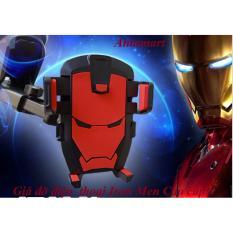 Giá Bán Gia Đỡ Kẹp Điện Thoại Tren O To Iron Man Cao Cấp Trực Tuyến Hà Nội