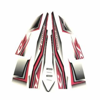 [Giá sốc] Trọn bộ Tem xe Sirius RC màu đỏ xám II, tân trang đẹp G40-151 thumbnail