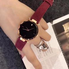 [GIẢM SÂU] Đồng hồ nữ chạy 3 kim dây da lộn đẳng cấp G24-40