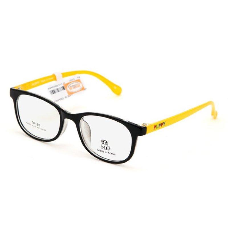 Mua Gọng kính trẻ em Unisex PUPPY P40003 BLK-Y (Đen vàng)