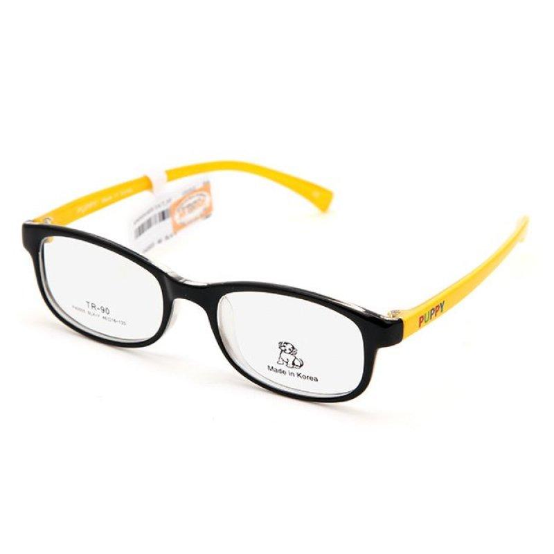 Mua Gọng kính trẻ em Unisex PUPPY P40005 BLK-Y (Đen vàng)