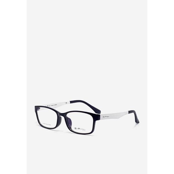 Giá bán Gọng kính unisex Exfash EF 6471 C042 màu đen phối trắng