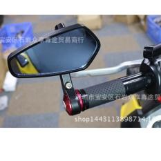 Gương phản chiếu màu đen tay cầm tay bên gương chiếu hậu chỉnh gương khối 01 chiếc