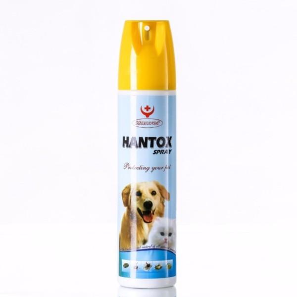 hantox spray thuốc xịt trị ve ghẻ chó mèo