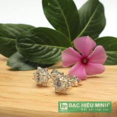 Mua Hoa Tai Bạc Ý Bạc Hiểu Minh Ht108 Bạc Hiểu Minh