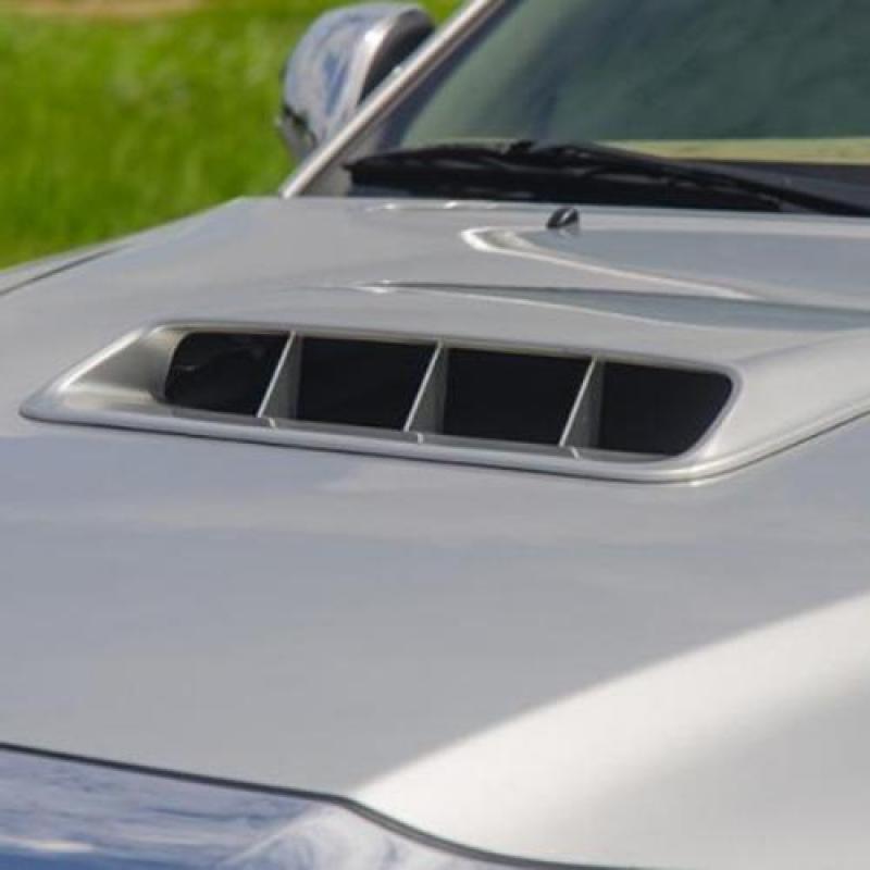 Hốc gió nắp trang trí nắp capo cho xe ô tô (Trắng)