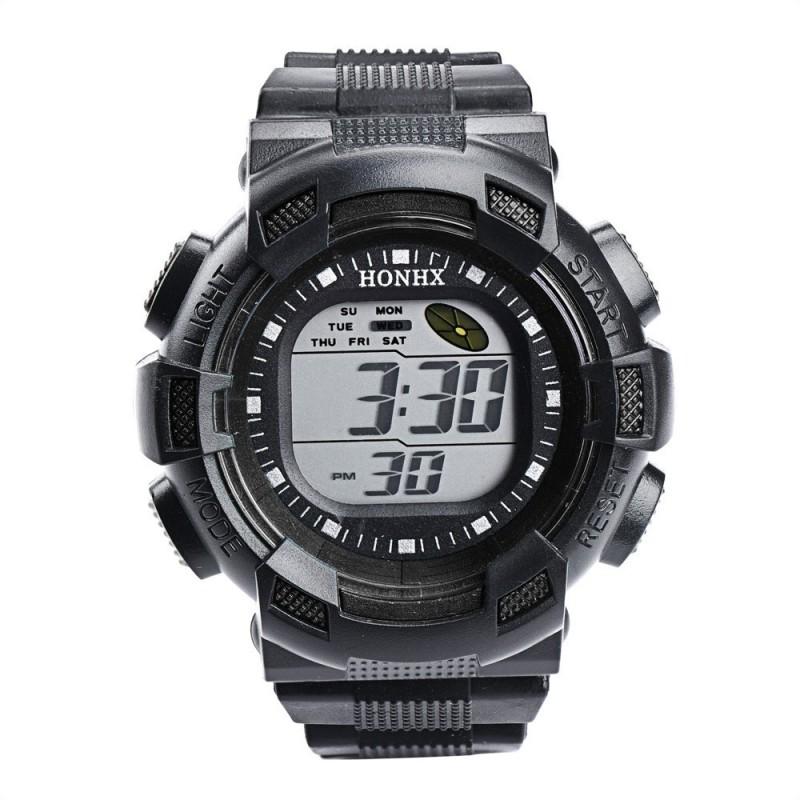 Nơi bán HONHX Brand watch digital camo colors silicone wrap camouflage wristwatch for children watch 71 - intl