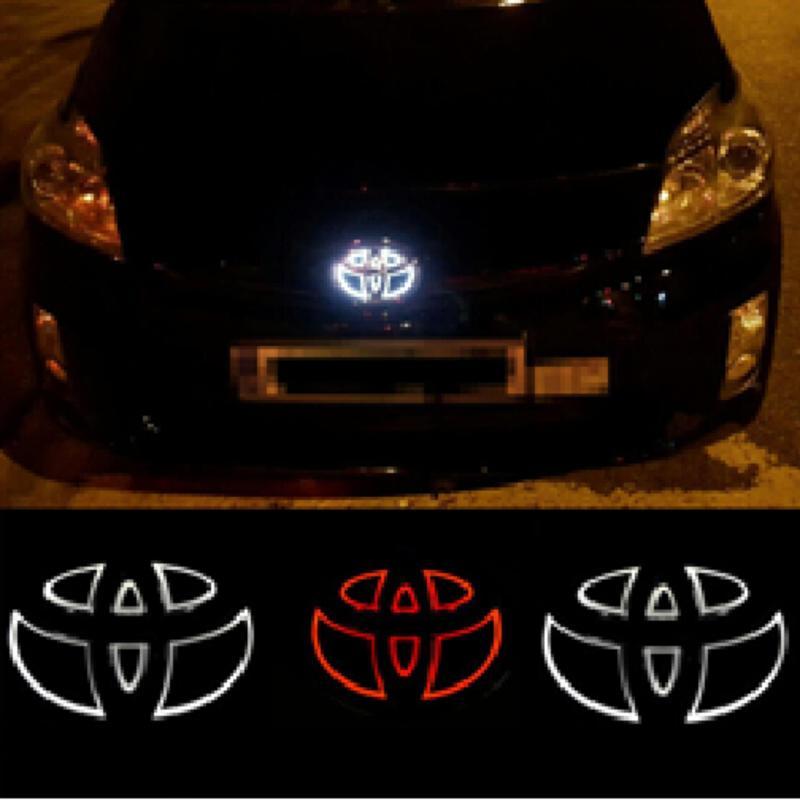 Logo 4D có đèn led hãng xe TOYOTA Cao Cấp AutoPlaza