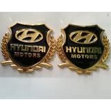 Bán Huy Hiệu Logo Xe Hơi Huyndai Kingauto