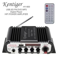 Không Nên Bỏ Lỡ Giá Sốc với HY-600 2CH HI-FI Âm Thanh Xe Ô Tô Bộ Khuếch Đại Công Suất Phát Thanh FM USB MP3 Stereo Kỹ Thuật Số Hỗ Trợ Nghe đĩa U SD/MMC -quốc Tế
