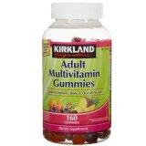 Giá Bán Kẹo Dẻo Bổ Sung Vitamin Cho Người Lớn Kirkland Signature Multivitamin Gummies 160 Vien Nguyên