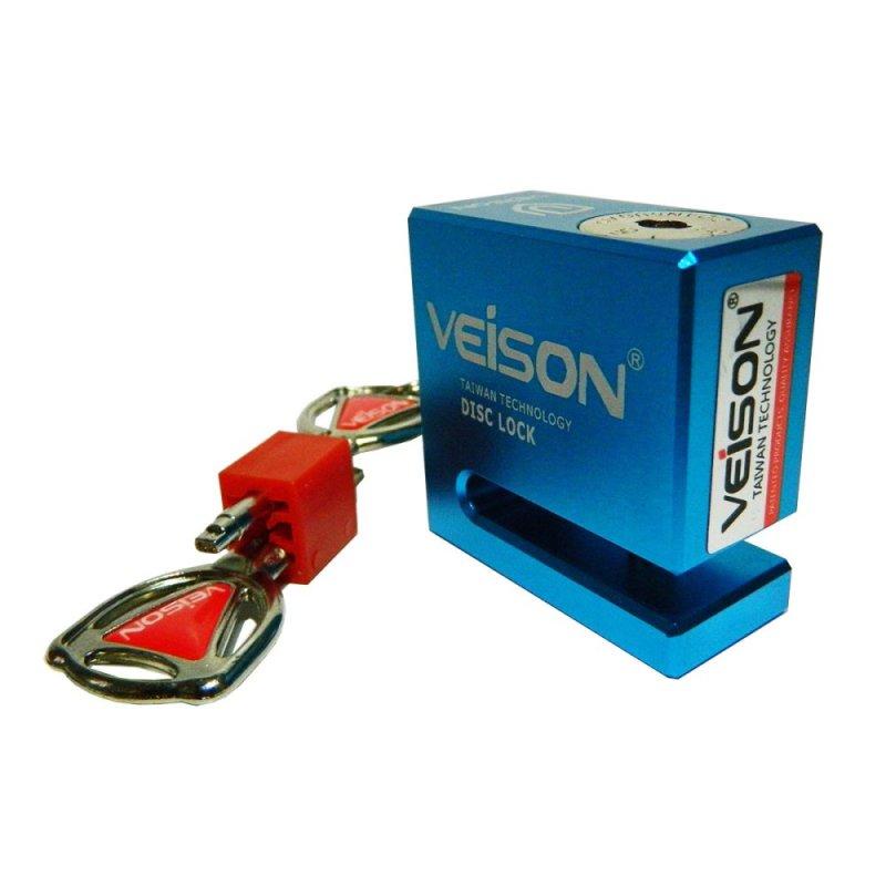 Khóa đĩa xe máy VEISON DX4 (xanh dương)