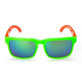 26622de3fb Khuyến mãi mới Kids Sunglasses boys square Glasses Polarized Lenses  Polaroid UV400 student Children s Frame Girl mirror retro(Green) - intl  flash sale - Giá ...