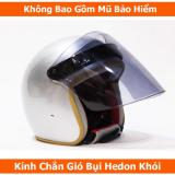 Bán Kinh Chắn Gio Bụi Hedon Danh Cho Non Bảo Hiểm 3 4 Kinh Khoi Khong Bao Gồm Mũ Có Thương Hiệu Rẻ