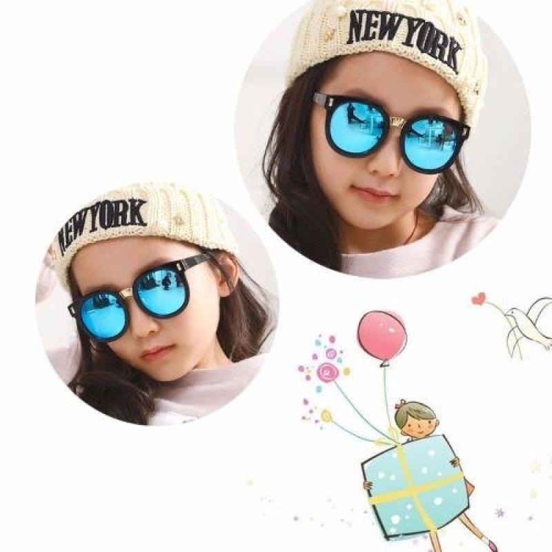 Mua Kính mát cho bé chống tia UV phong cách Hàn Quốc 2016 Korea kids C653 (Xanh)