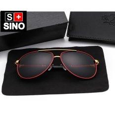 Chiết Khấu Sản Phẩm Kinh Mat Nam Sino S8000R Đỏ