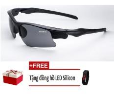 Hình ảnh Kính mắt ngày và đêm ANCOM GL UV1552 (Vàng) + Tặng đồng hồ Led Silicon màu sắc ngẫu nhiên