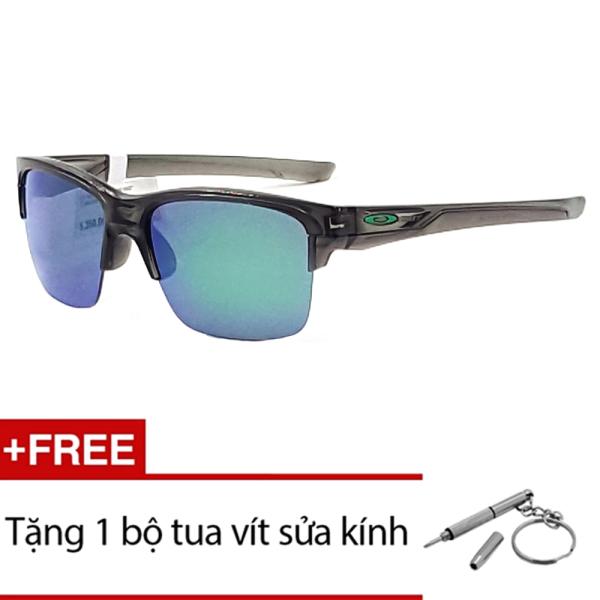 Giá bán Kính mát Oakley THINLINK OO9317 02 (Tráng thuỷ Xanh) + Tặng 1 bộ tua vít sửa kính