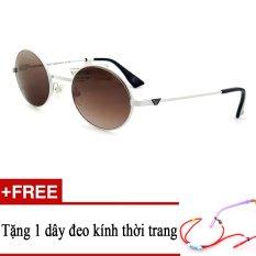 Giá bán Kính mát trẻ em EA 9652 HID (TRẮNG PHỐI ĐEN) + Tặng kèm 1 dây đeo kính trẻ em