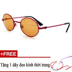 Giá bán Kính mát trẻ em EA 9652 LAR (ĐỎ PHỐI CAM) + Tặng kèm 1 dây đeo kính trẻ em