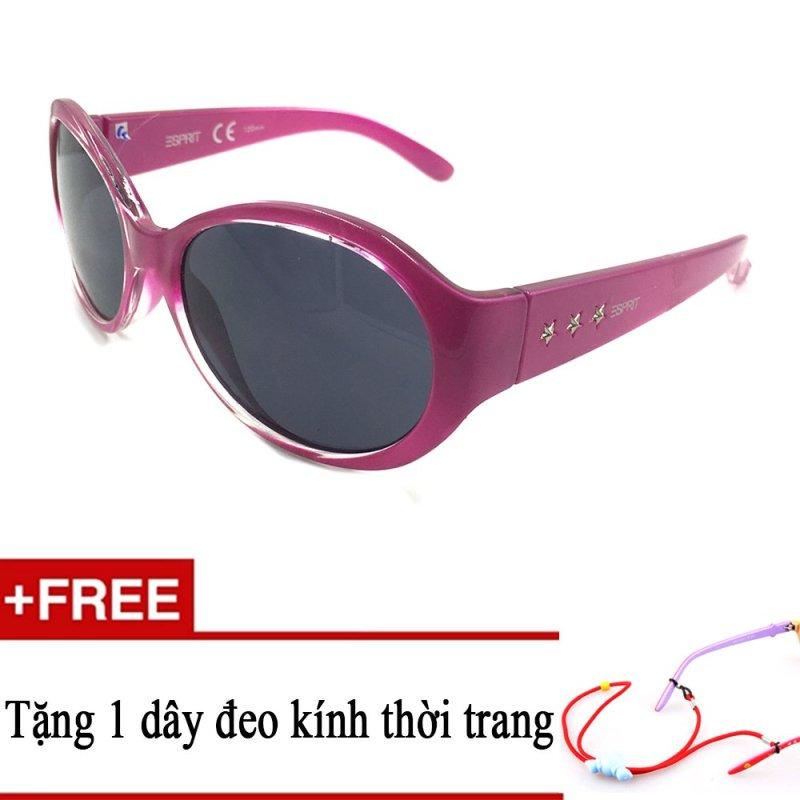 Giá bán Kính mát trẻ em ESPRIT ET19734 534 (Hồng) + Tặng kèm 1 dây đeo kính trẻ em