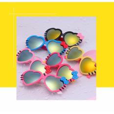 Giá bán Kính râm chống tia UV hình trái tim cực yêu cho bé (màu hồng) GR247