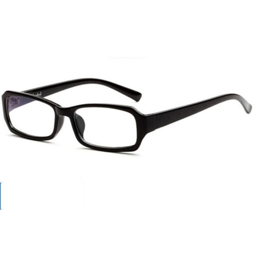 Kính thời trang giả cận chống bụi bảo vệ mắt E-F1