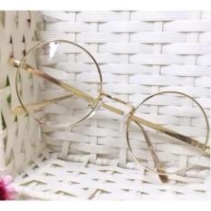 Hình ảnh kính thời trang nobita gọng tròn 250 (vàng)