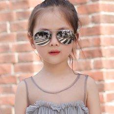 Kính thời trang phản quang cực chống tia UV siêu đáng yêu cho bé Korea Kids 2017 F171 (Sao thủy)