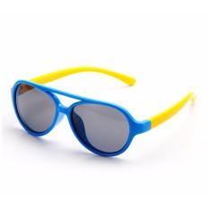 Giá bán Kính trẻ em gọng dẻo mắt chống tia UV (Xanh dương) MLM