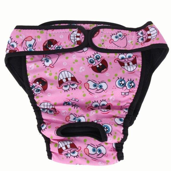 【companionship】(Giao hàng miễn phí cho cả ba chiếc đến Hà Nội)Large Dog Diaper Sanitary Physiological Pants Washable Female Dog Underwear - intl