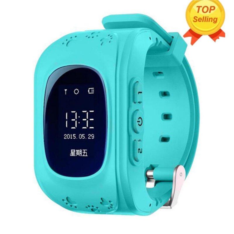 Nơi bán Đồng hồ đeo tây an toàn cho trẻ nhỏ, có GPS/GSM, cuộc gọi TIN NHẮN SMS, chuồn mất trộm hiệu Leegoal, màu Lam-quốc tế