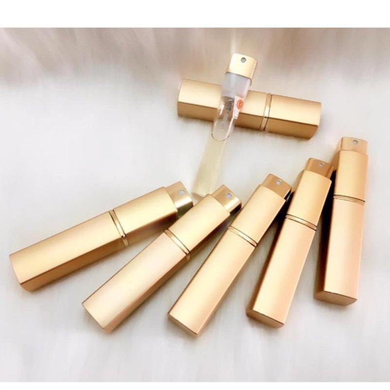 Lọ chiết nước hoa vàng gold 10ml
