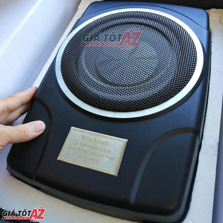 Loa Bass Siêu Trầm đặt gầm ghế ô tô chất lượng cao - MBQ AW 800DR