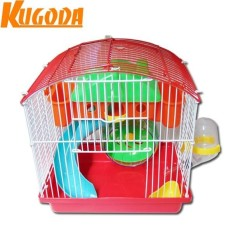 Ôn Tập Trên Lồng Nobita Nhiều Mau Sắc Cho Chuột Hamster Kugoda Dai 23Cm X Rộng 17Cm X Cao 25Cm Kgd0205