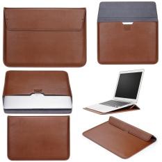 Giá Bán Lyball Macbook 15 Inch Tay Với Chan Đứng Apple Macbook Ultrabook Vi Nữ Tay Mang Theo Tui Bao Da Pu Ốp Lưng Đựng Laptop Với Phia Sau Tui Thiết Kế Mau Nau Quốc Tế Rẻ