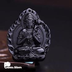 Giá Bán Mặt Day Chuyền Nam Mặt Day Chuyền Phật Mặt Day Chuyền Nam Chất Liệu Đa Tự Nhien Mặt Phật Cho Nam Đẹp Mặt Day Chuyền Hộ Mệnh Mặt Day Chuyền Phật Phổ Hiền Bồ Tat Chất Liệu Đa Obsidian Bản New Phong Thủy Thương Hiệu Ganes Silver Rẻ Nhất