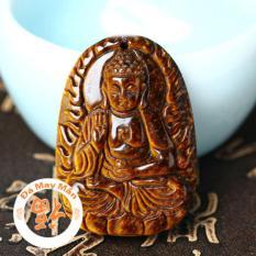 Mặt Day Chuyền Phật Bản Mệnh A Di Đa Mắt Hổ Vang Nhi Hồ Chí Minh Chiết Khấu 50
