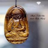 Mặt Day Chuyền Phật Bản Phật A Di Đa Đa Mắt Hổ Vang Phong Thủy Bảo Tin Nguyên