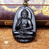 Mặt Day Chuyền Phật Bản Phật A Di Đa Obsidian Đen Phong Thủy Bảo Tin Đen Hà Nội Chiết Khấu