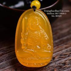 Mã Khuyến Mại Mặt Day Chuyền Phật Bất Động Minh Vương Hoang Ngọc Đa Topaz Phong Thủy Bảo Tin