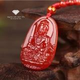 Mặt Day Chuyền Phật Văn Thu Bồ Tat Đa Ma Nao Đỏ Phong Thủy Bảo Tin Bảo Tín Rẻ Trong Hà Nội