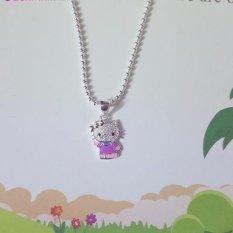 Hình ảnh Mặt dây chuyền trẻ em trang sức bạc Ý S925 Bạc Xinh RYD140024