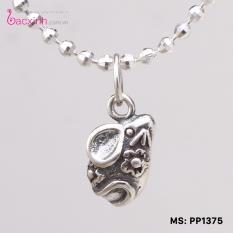 Giá bán Mặt đeo dây chuyền, lắc tay, lắc chân cho bé 12 con giáp bạc Thái S925 Bạc Xinh - Quà tặng tuổi Tý PP1375