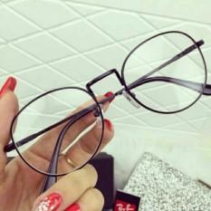 Hình ảnh Mắt kính ngố gọng cận không độ Nobita thời trang (đen)