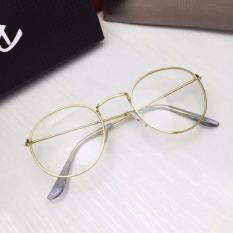 Mắt kính ngố gọng cận Nobita nam-nữ thời trang TTP(Vàng)