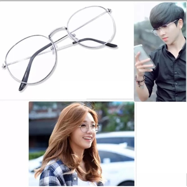 Giá bán Mắt kính ngố gọng cận Nobita thời trang (Trắng)