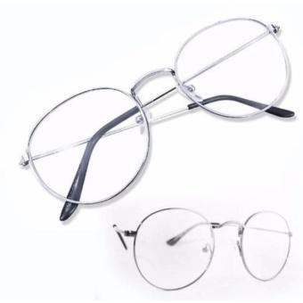 Mắt kính ngố gọng cận Nobita thời trang (Trắng)
