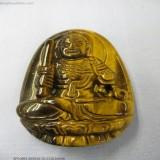 Bán Mặt Phật Bản Mệnh Bất Động Minh Vương Đa Mắt Hổ Nau 5 8 X 3 7Cm Số 11 Rẻ Hòa Bình