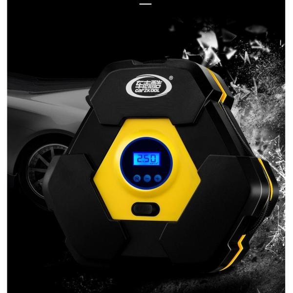Máy bơm lốp oto, xe hơi điện tử đa năng OEM (Tự ngắt khi đủ áp) Bán chạy by Agiadep
